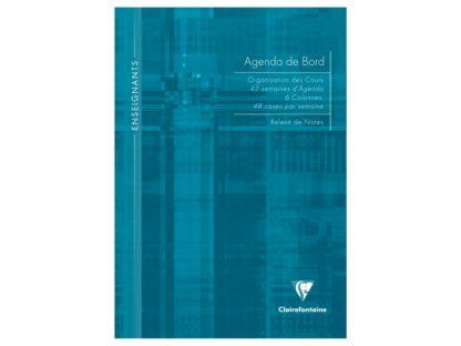 Agendă nedatată A4, Clairefontaine albastru