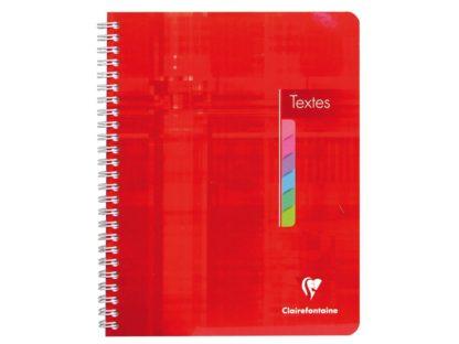 Agendă școlară Clairefontaine roșu