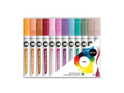 Aqua Color Brush Basic Set 2