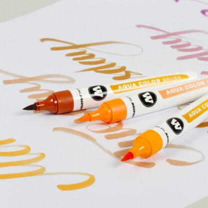 Aqua Color Brush Basic Set 2 example 3