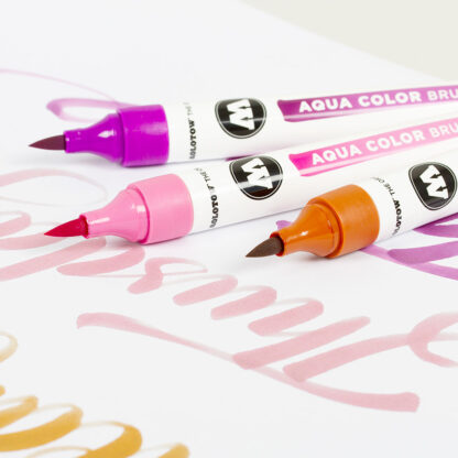 Aqua Color Brush Basic Set 2 example 4