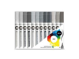 Aqua Color Brush Basic Grey Set