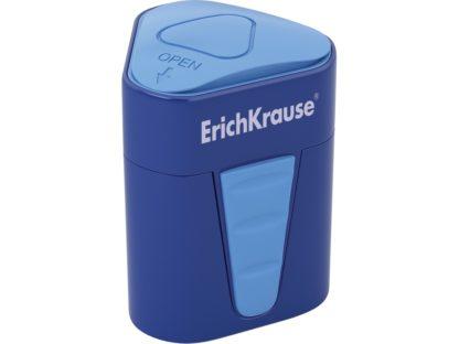 Ascuțitoare din plastic cu rezervor Erich Krause 3-Touch albastru