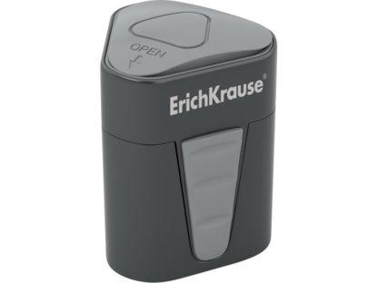 Ascuțitoare din plastic cu rezervor Erich Krause 3-Touch gri