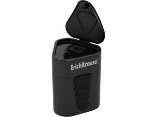 Ascuțitoare din plastic cu rezervor Erich Krause 3-Touch negru