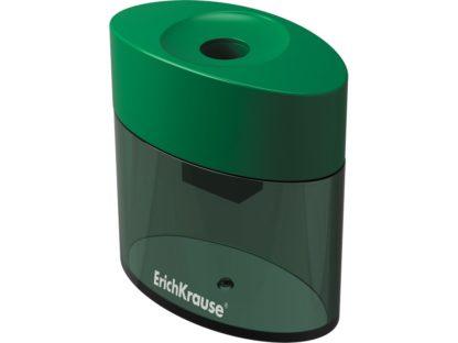 Ascuțitoare din plastic cu rezervor Erich Krause Smart&Sharp verde