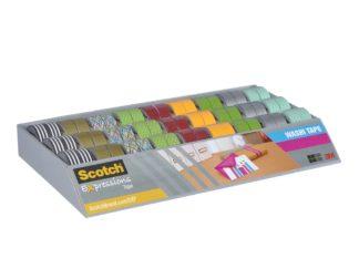 Bandă adezivă decorativă Scotch® Washi