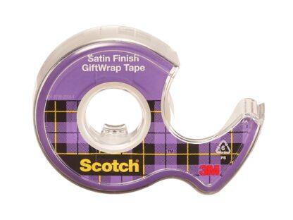 Bandă adezivă Gift Wrap cu dispenser, 19 mm x 7,5 m, Scotch 2