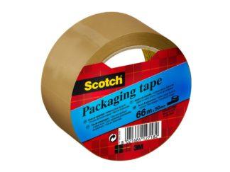 Bandă adezivă Scotch® lată maro