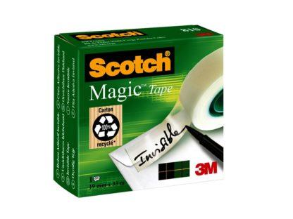 Bandă adezivă Scotch® Magic™