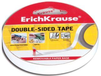Bandă dublu adezivă Erich Krause, 12mm X 10m