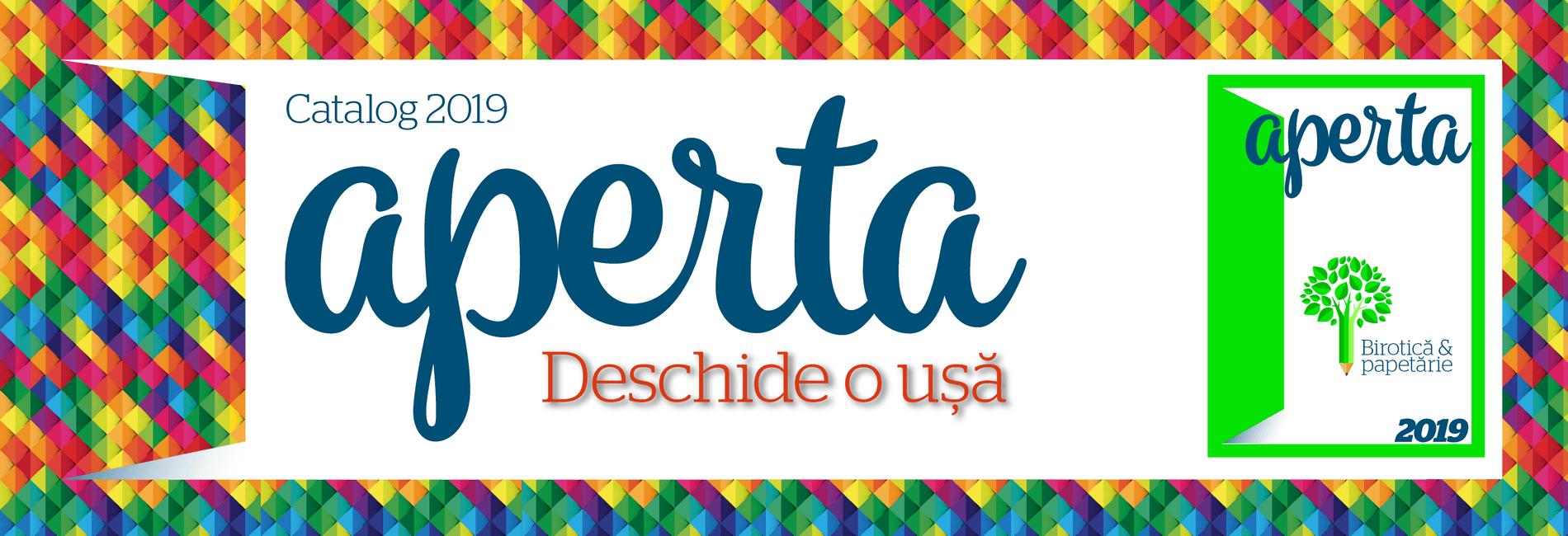 Banner Catalog Aperta 2019