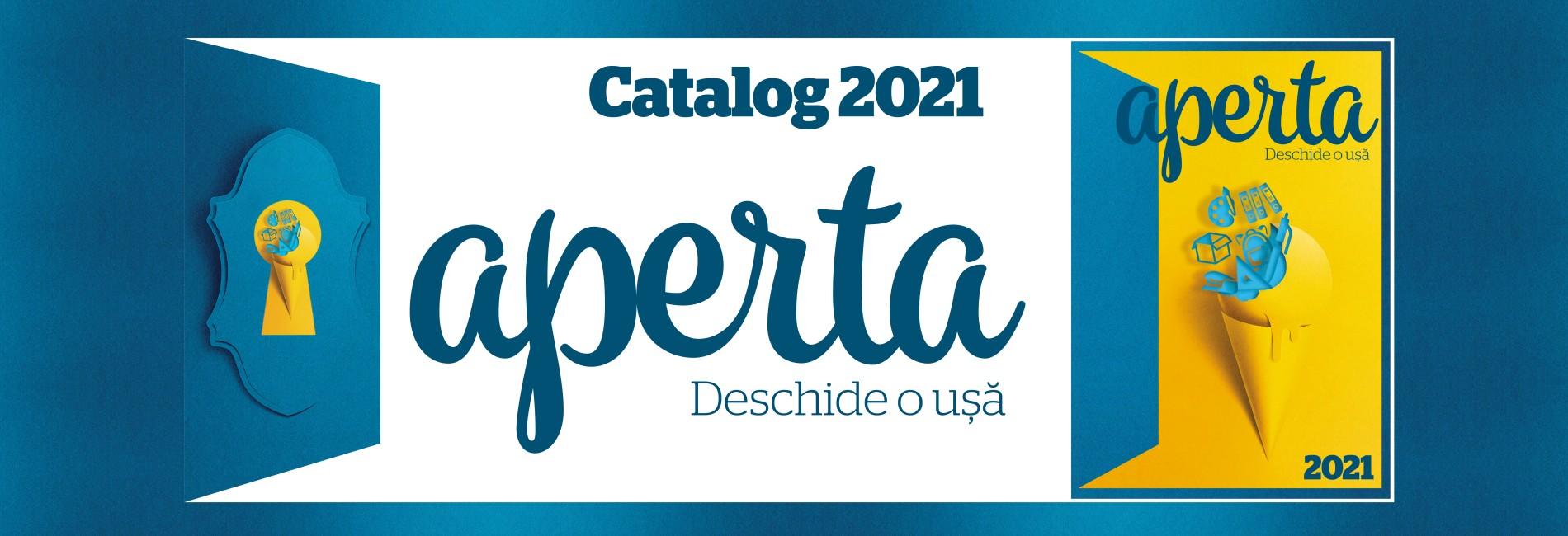 Banner Catalog Aperta 2021