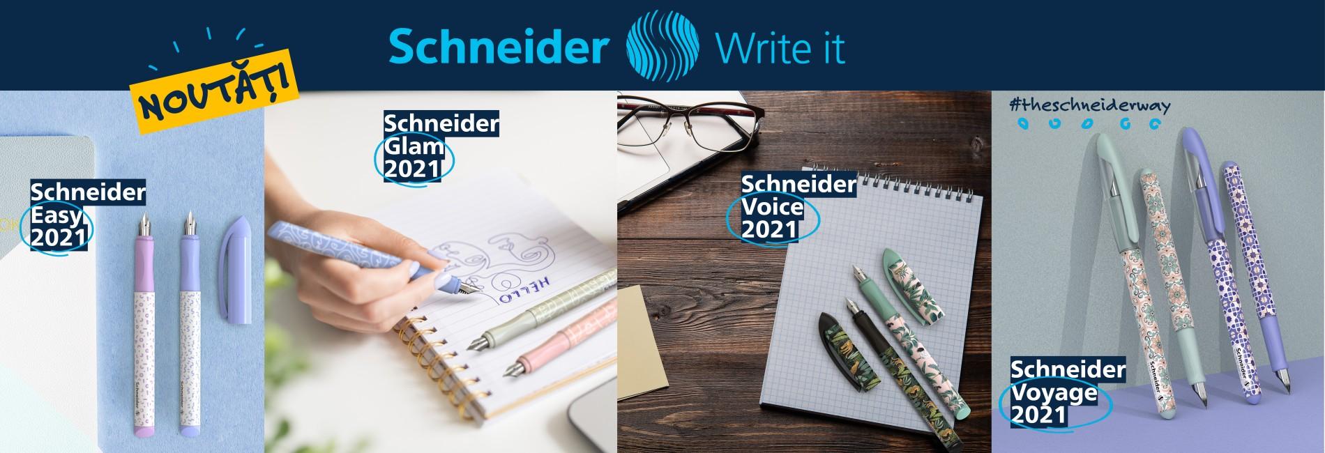 Noutăți Schneider martie 2021