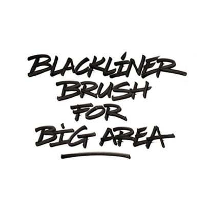 Blackliner Brush example 3