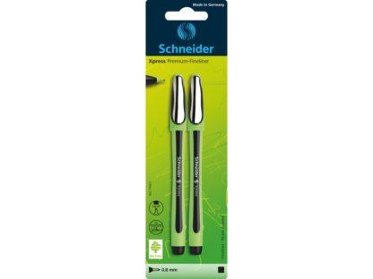 Blister Fineliner Schneider Xpress negru