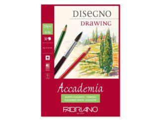 Bloc desen Accademia Disegno, A3, fără spiră, Fabriano