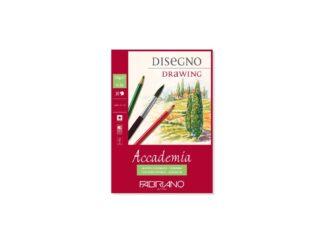 Bloc desen Accademia Disegno, A5, fără spiră, Fabriano