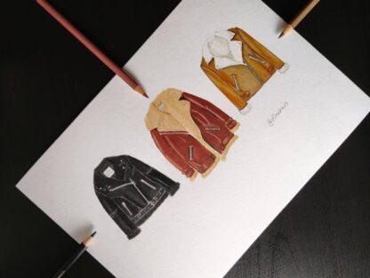 Bloc desen Accademia Disegno, Fabriano exemplu 1