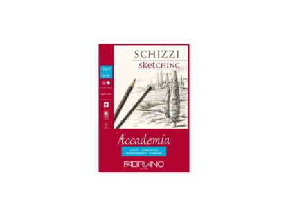 Bloc desen Accademia Schizzi, A5, fără spiră, Fabriano