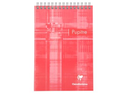Blocnotes Clairefontaine Pupitre A5 roșu