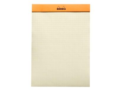 Blocnotes N°16 A5 capsat Rhodia Orange liniatură