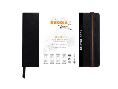 Bristol Book A5 Rhodia Touch Layout ambalaj