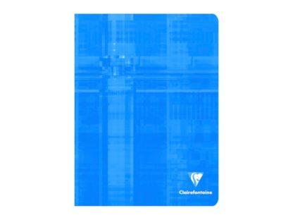 Caiet capsat 17 x 22 cm 5 x 5 Clairefontaine albastru