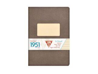 Caiet capsat A5, 48 file, Colecția 1951, Clairefontaine negru