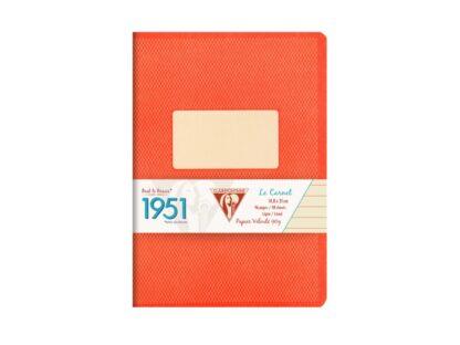 Caiet capsat A5, 48 file, Colecția 1951, Clairefontaine roșu