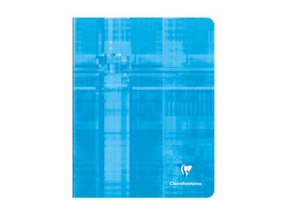 Caiet capsat A5+, Clairefontaine albastru