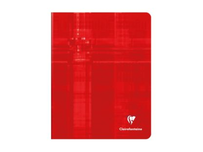 Caiet capsat A5+, Clairefontaine roșu