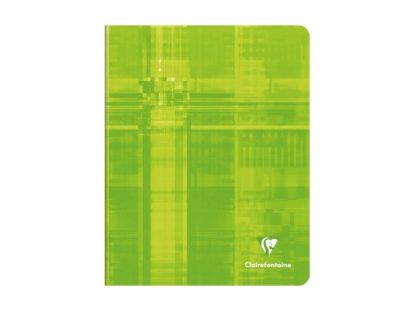 Caiet capsat A5+, Clairefontaine verde