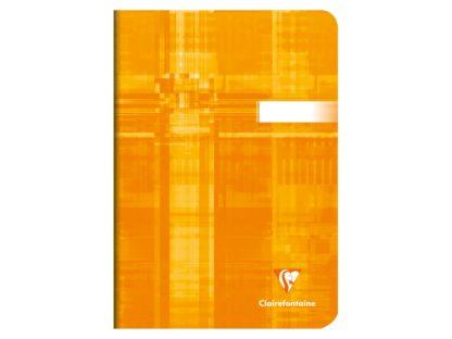 Caiet Clairefontaine A5 portocaliu