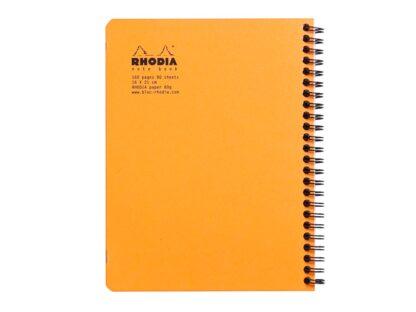 Caiet Clairefontaine Rhodia Classic spate portocaliu