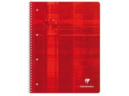 Caiet Clairefontaine Studium roșu