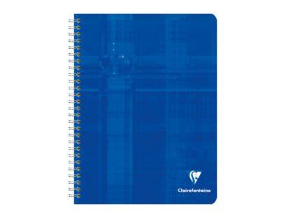 Caiet cu spiră, Clairefontaine albastru