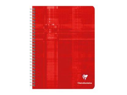 Caiet cu spiră, Clairefontaine roșu