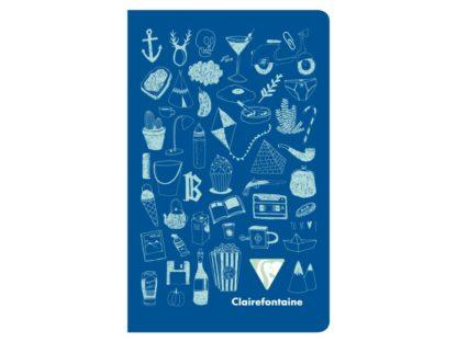 Caiet Twice, Clairefontaine albastru