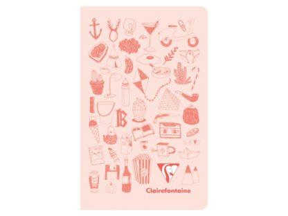 Caiet Twice, Clairefontaine roz