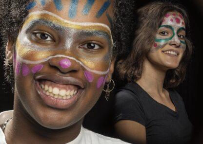 Carioca Mask-Up Metallic exemplu
