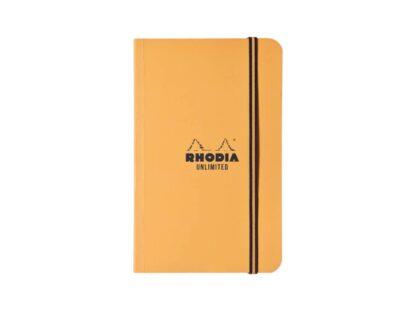 Carnet nedatat A5+, Rhodia Unlimited orange