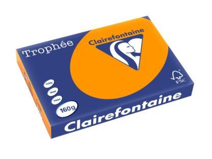 Carton color Clairefontaine Intens A3 portocaliu intens