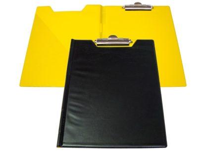 Clipboard dublu bicolor negru