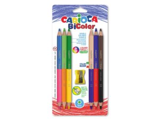 Creioane Bi-color 6/set