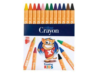Creioane cerate Creative Kids 12/set