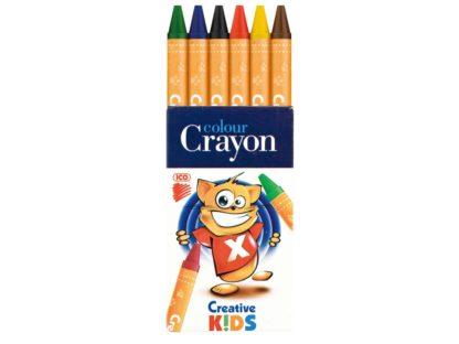 Creioane cerate Creative Kids 6/set