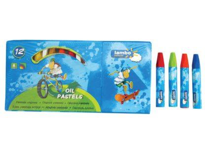 Creioane cerate Oil Pastels Lambo School