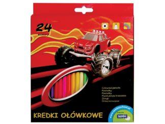 Creioane color Lambo School 24/set 1