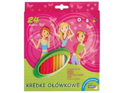 Creioane color Lambo School 24/set 2